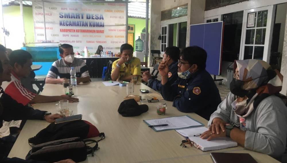 Musyawarah Karang Taruna Kecamatan Kumai, Kabupaten Kotawaringin Barat, Kamis, 1 Juli 2021