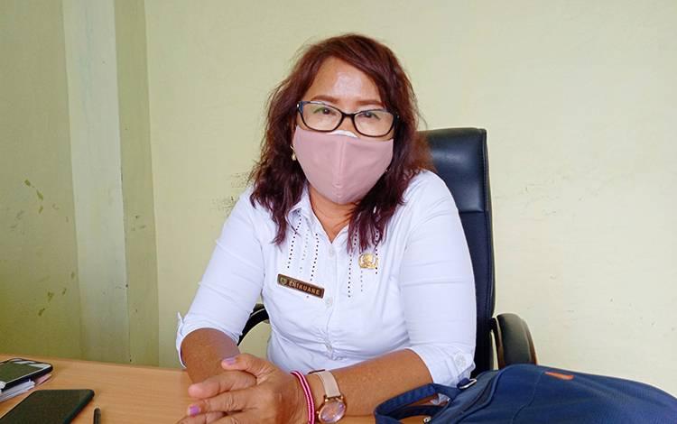 Kabid Pencegahan dan Pengendalian Penyakit Dinas Kesehatan Barito Timur, Enikuane.
