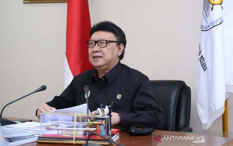 Menteri Pendayagunaan Aparatur Negara dan Reformasi Birokrasi (Menpan RB) Tjahjo Kumolo. (foto : ANTARA/Istimewa)