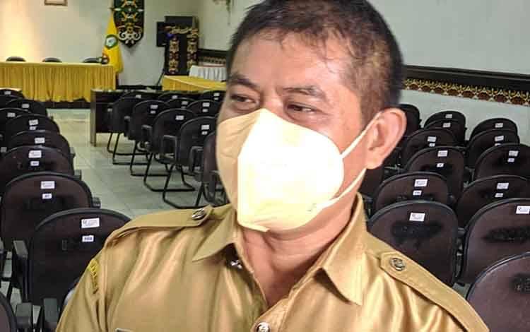 Kepala Badan Kepegawaian dan Pengembangan Sumber Daya Manusia (BKPSDM) Kotim Alang Arianto.