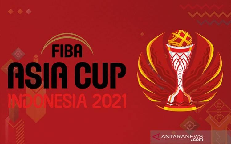 Ilustrasi logo turnamen Piala Dunia FIBA 2021 yang akan dilangsungkan di Istora Senayan, Jakarta, Indonesia, pada 17-29 Agustus 2021. (FIBA)