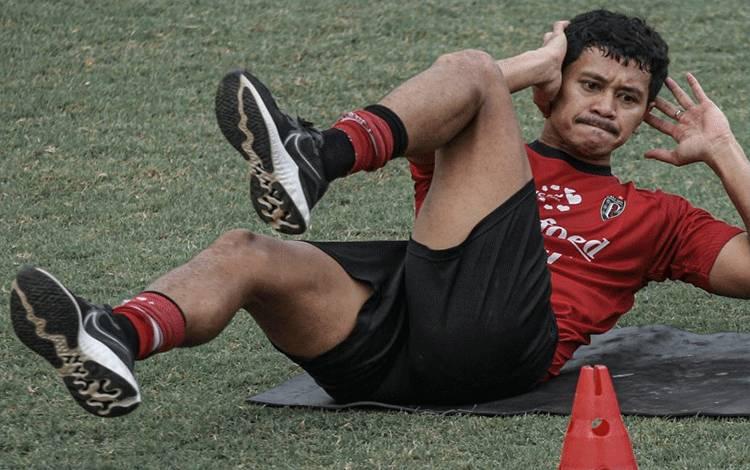 Gelandang tengah Bali United Rizky Pellu (HO/Baliutd.com)
