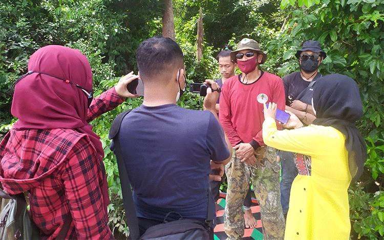 BKSDA Tegaskan Video Serangan Buaya Tidak Terjadi di Sungai Mentaya