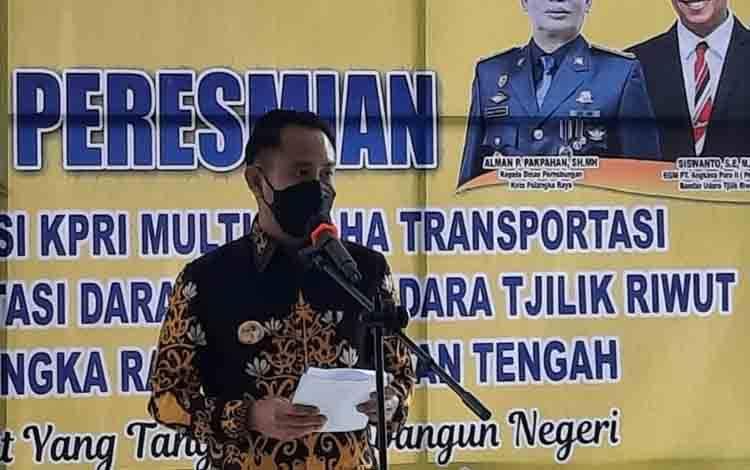Wali Kota Palangka Raya, Fairid Naparin