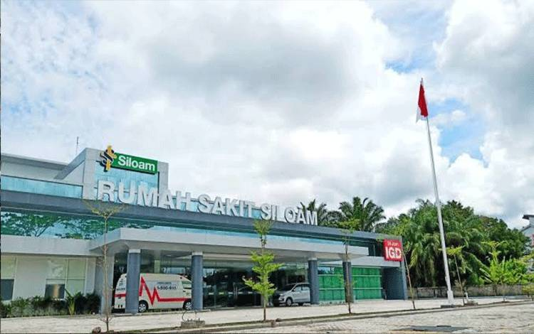 Rumah Sakit (RS) Siloam Palangka Raya.