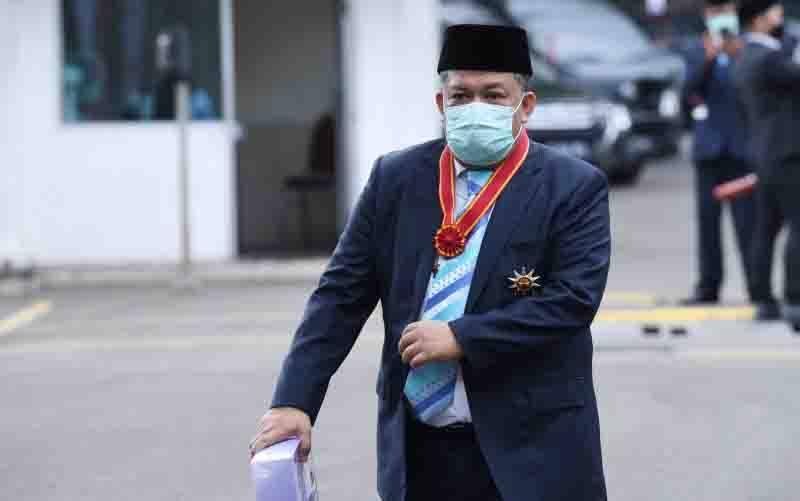 Wakil Ketua Umum Partai Gelora Fahri Hamzah. (foto : ANTARA FOTO/Hafidz Mubarak A/wsj)
