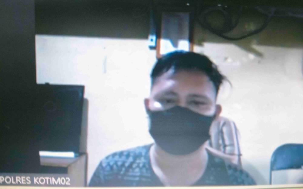 Siswono Wiria Saputra alias Ono, terdakwa kasus penganiyaan,