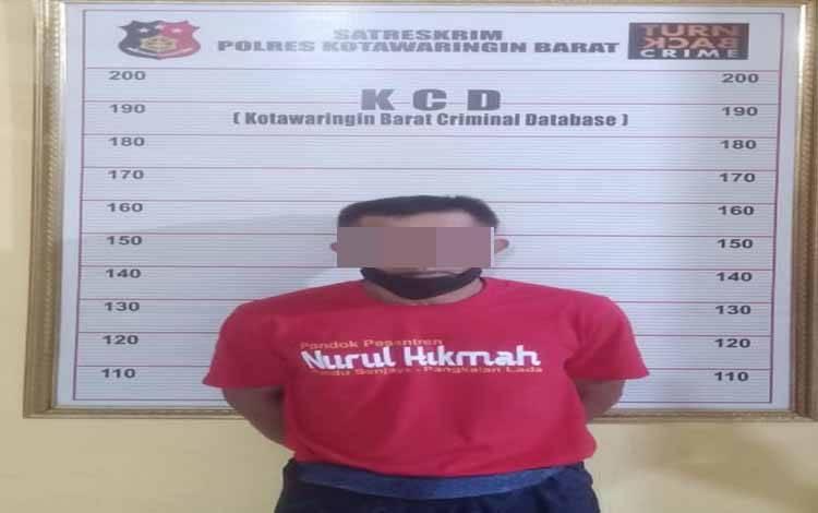 Terjerat kasus pencaabulan AK (52) Pengurus Ponpes Nurul Hikmah diamankan polisi