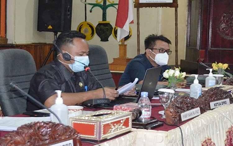 Rapat kerja gabungan Komisi DPRD Barito Timur