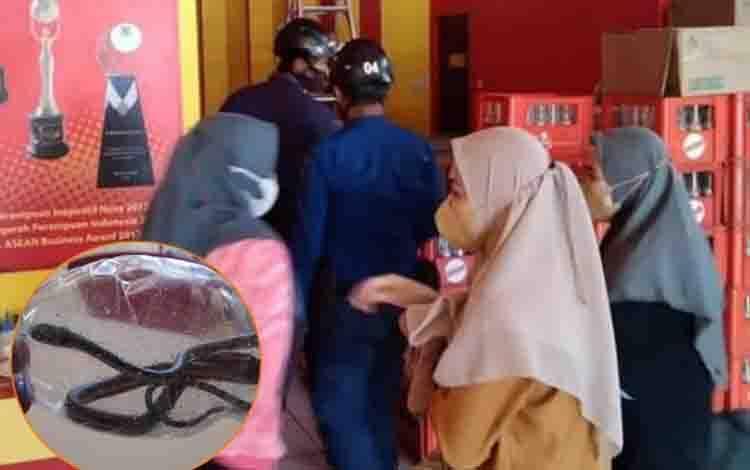 Restoran Cepat Saji di di Sampit Kedatangan Tamu Tak Diundang