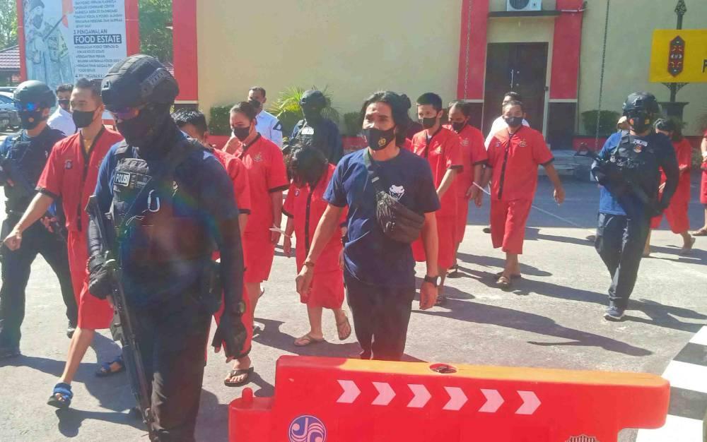 Polda Kalteng dan Jajaran Tangkap 570 Tersangka, Lebih 10 Kg Sabu Disita