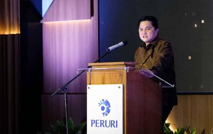 Menteri BUMN Erick Thohir. ANTARA/HO-Kementerian BUMN