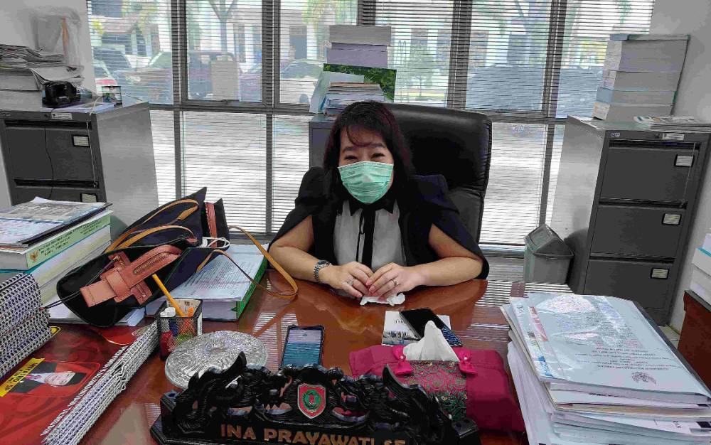 Anggota Komisi II DPRD Kalteng, Ina Prayawati.