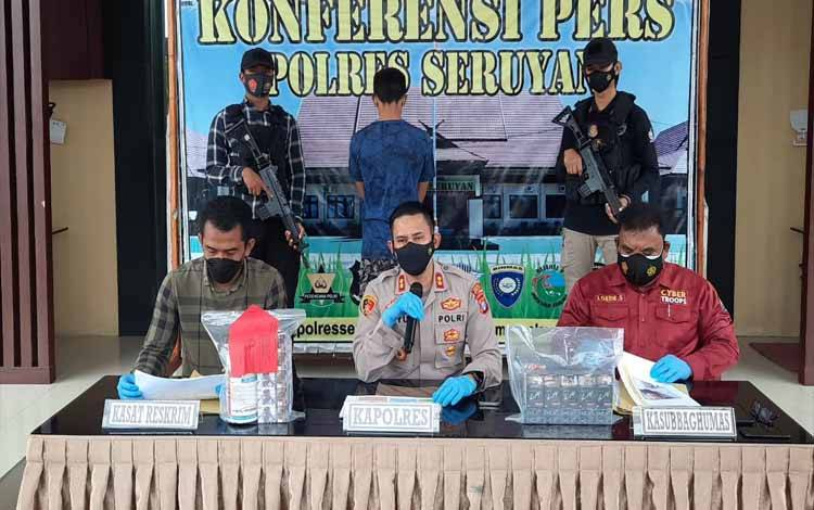 Remaja di bawah umur diamankan Polres Seruyan lantaran melakukan aksi Curat disebuah toko