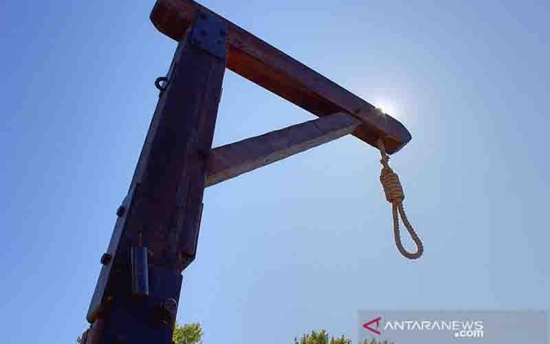 Ilustrasi tiang gantung sebagai peranti salah satu bentuk hukuman mati. (foto : ANTARA/Shutterstock/Ginkolac/aa)