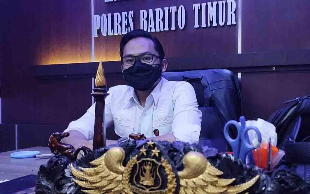 Kasatreskrim Polres Barito Timur, AKP Ecky Widi Prawira.