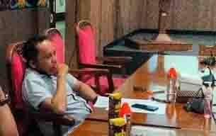 Ketua Fraksi Nasdem DPRD Kotim, Syahbana.