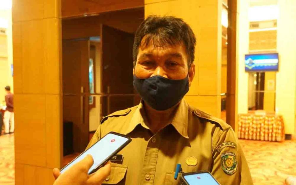 Kepala Dinas Perdagangan Koperasi UKM dan Perindustrian Kota Palangka Raya, Rawang