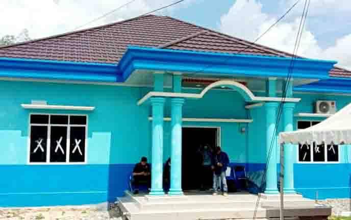 Bangunan Kantor Desa Lemo II yang dibangun Pemdes setempat dengan menggunakan Alokasi Dana Desa (ADD) 2020 dan 2021