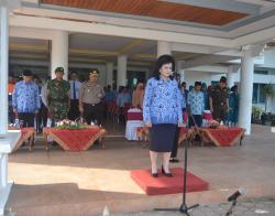 Wakil Bupati Barito Selatan Minta Warga Binaan Jangan Berkecil Hati