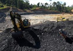 TAMBANG BATU BARA: Sejumlah lembaga swadaya masyarakat menolak pendirian perusahaan tambang batu bara di Pulau Laut, Kabupaten Kotabaru.