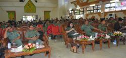 RAKERDA : Suasana Rakerda di GPU Jaro Pirarahan, Buntok, Senin (2/3). Dalam rakerda itu terungkap angka kemiskinan di Kabupaten Barsel terus turun dari tahun ke tahun.