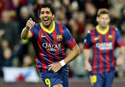 Luis Suarez Striker Barcelona