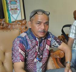 DIPERIKSA: Tommy Hermal Ibrahim, Ketua DPRD Lamandau mengatakan pemeriksaannya terkait tuduhan pemalsuan dokumen pemilu legislatif berbau politis.
