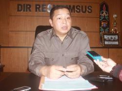 Kombes Anton Sasono Direktur Reserse Kriminal Khusus Polda Kalteng