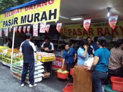 Bulog akan Gelar Pasar Murah Saat Ramadan