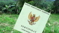 SERIFIKAT AMAN: BPN Pangkalan Bun menyatakan ratusan sertifikat tanah yang dimasukkan pengembangan dan pembangunan perkebunan sawit PT BGA pada 2008 lalu, masih aman.