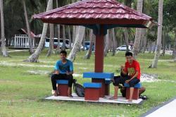 OBJEK WISATA : Salah satu objek wisata yang ada di Kabupaten Seruyan.
