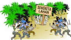 SENGKETA LAHAN: Konflik sejumlah warga desa di Kecamatan Pangkalan Lada dan PT Surya Sawit Sejati (SSS) United Plantations Berhads hingga kini belum diketahui hasilnya. Pascamediasi, Senin 13 April lalu, sejumlah warga desa belum mendapat kabar mengenai penyelesaian konflik tersebut.