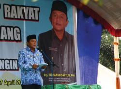 Calon Bupati Kotawaringin Barat 2017-2022, Indrawan Sakti, yang mantan Kepala Dinas Kesehatan Kotawaringin Barat. BORNEONEWS/DOK
