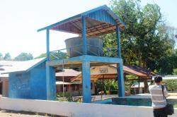 FASILITAS UMUM : Instalasi air bersih di salah satu desa di Bartim. Di sisi lain, masih terdapat 28 desa berstatus desa tertinggal yang membutuhkan perhatian.