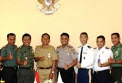 Siswa Seskoad berpraktek kerja di Kabupaten Tanah Bumbu.