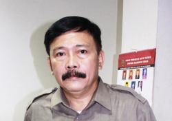 Sekretaris Jenderal Dewan Adat Dayak (DAD) Kalimantan Tengah, Yansen Binti