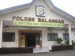 PENYEGARAN JABATAN: Lima perwira menengah di Polres Balangan mendapat penyegaran jabatan. Hal ini dalam upaya meningkatkan kinerja mereka dan pemerataan tugas.