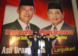 AKHIRI MASA JABATAN: Tidak lama lagi, Rudy Arifin akan mengakhiri masa jabatannya sebagai gubernur Kalimantan Selatan. Rudy Arifin tidak bisa lagi mencalonkan diri lantaran sudah memimpin Kalsel selama dua periode.
