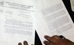 Surat DPRD Kobar kepada Kejari Pangkalan bun