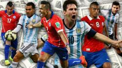 JANJIKAN KESERUAN: Final Copa America 2015 yang mempertemukan Chile dan Argentina pada Minggu (5/7/2015) diprediksi menjanjikan keseruan. Sebab kedua tim sama-sama berambisi meraih totel juara.