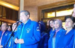 KETUM DEMOKRAT: Sebagai Ketua Umum Partai Demokrat, Susilo Bammbang Yudhoyono minta agar kader partai bisa berpolitik yang santun.