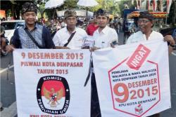PILKADA SERENTAK: Enam pemilihan kepala daerah (pilkada) akan berlangsung di enam kabupaten/kota di Bali pada pilkada serentak 9 Desember tahun ini. Sebanyak 17 PNS eselon II akan meramaikan pesta demokrasi lokal itu.