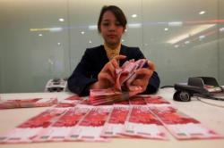 Kurs Rupiah terhadap Dolar Melemah Belum Pengaruhi Inflasi