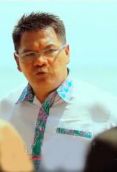 DIGOYANG : Mantan wakil bupati Kotabaru Rudy Suryana digoyang dari pencalonnya menjadi bupati. Pelaku 'pengusik' ketenangan Rudy Suryana ialah kader Partai Demokrat bernama Kadarusman.