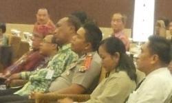 SOSIALISASI : Wakil Walikota Palangka Raya, Mofit Saptono Subagio menghadiri acara sosialisasi sadar membayar pajak.
