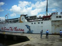 Penumpang KM Dharma Kencana Ditemukan Nelayan di Atas Gosong Senggora