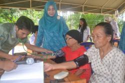 Kecamatan Murung Rutin Laksanakan Posyandu Lansia