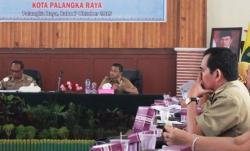 RAKOR : Wakil Walikota Palangka Raya, Mofit Saptono Subagio memimpin Rakordal Triwulan III, Jumat (7/10/2015)