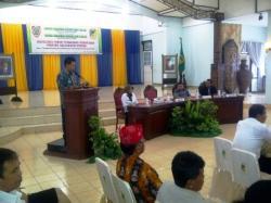 PARIPURNA : Sidang Paripurna yang digelar di Dewan Perwakilan Rakyat Daerah (DPRD) Lamandau, belum lama tadi.